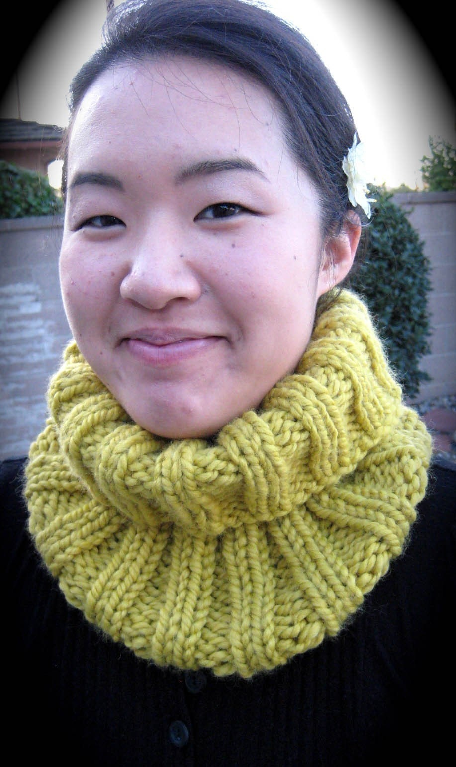 Cozy Citron (or other colors) Cowl