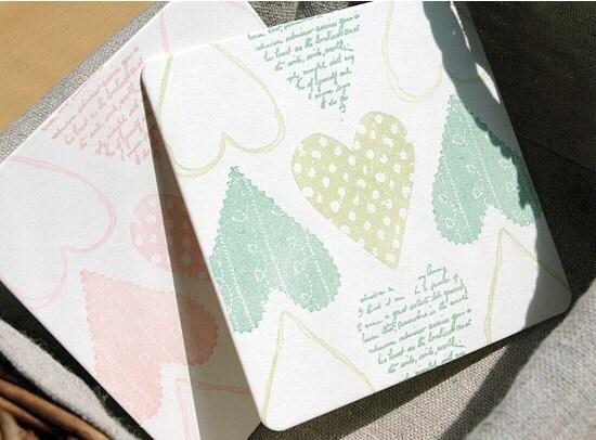 Paper Coaster - square 30pcs