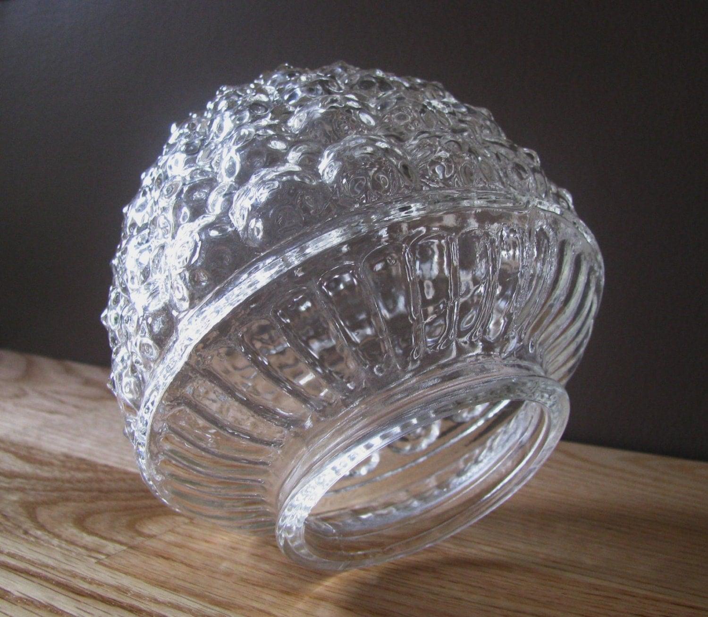 glass lighting fixture globe by redfordretro on etsy. Black Bedroom Furniture Sets. Home Design Ideas