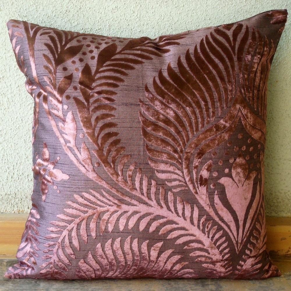 Plum Beauty - Throw Pillow Cover
