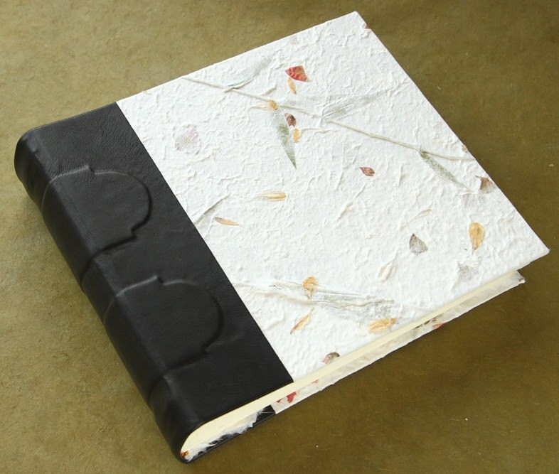 Handmade Paper Book Cover : Badger and chirp handmade paper on books is lovely