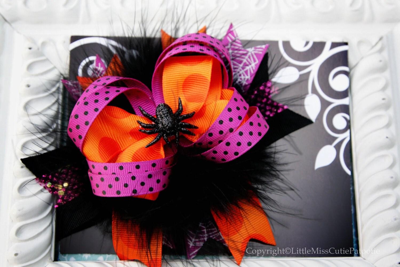 Halloween Bow