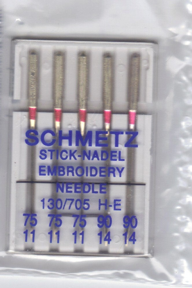 Items similar to Sewing machine needles Schmetz Embroidery ...