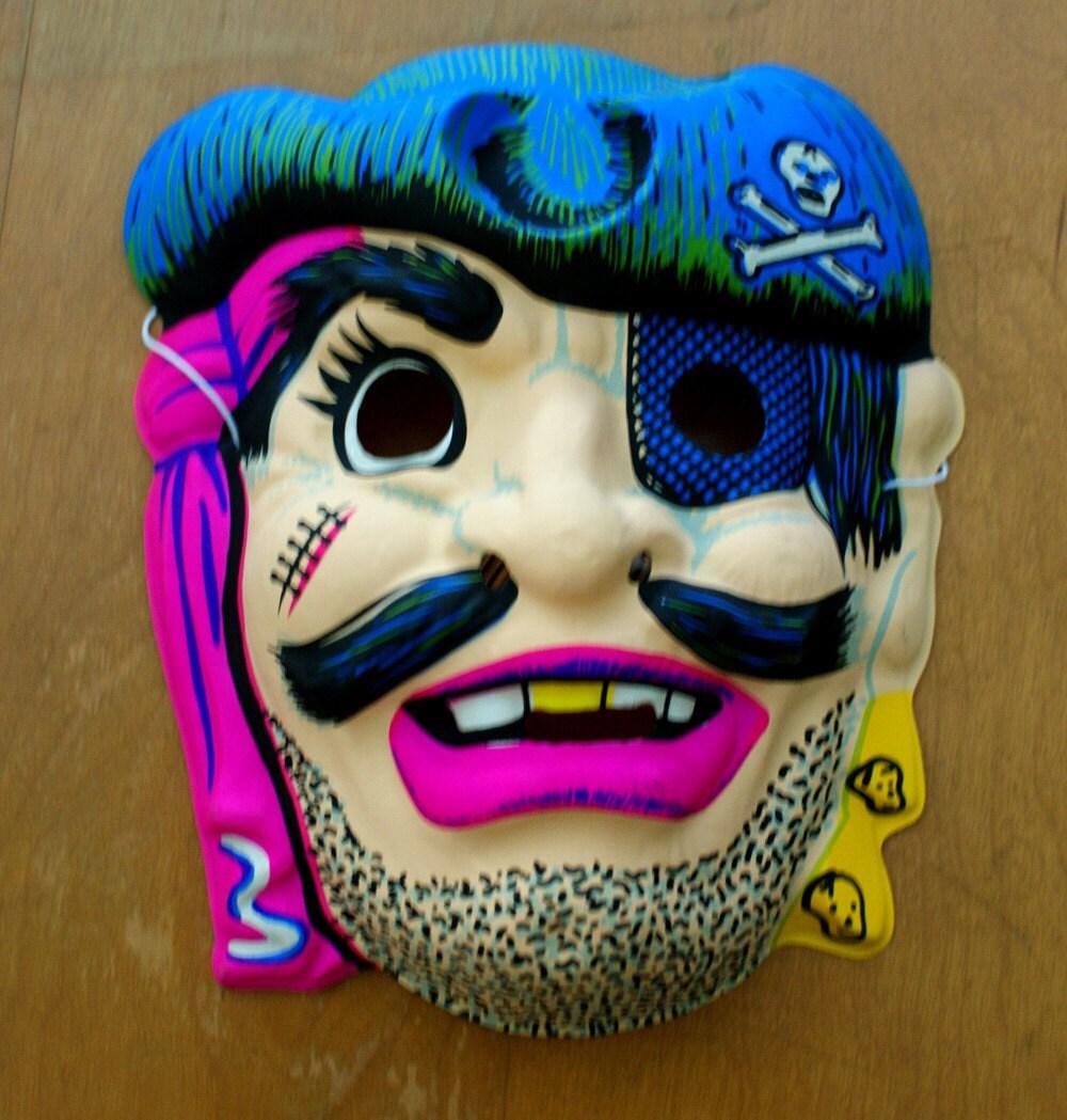 Vintage Halloween Mask 1960s-1970s deadstock