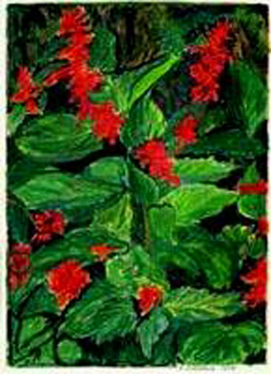Holiday Color (For The Holiday Wall) Original Drawing