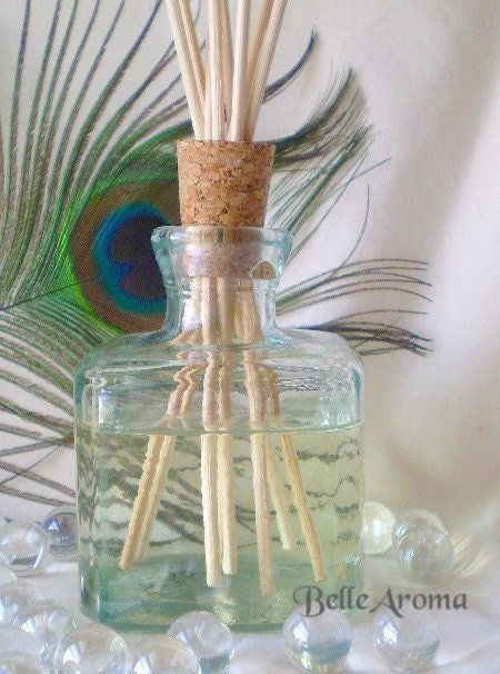 Vintage Style Apothecary Complete Reed Diffuser Set 5oz Oil