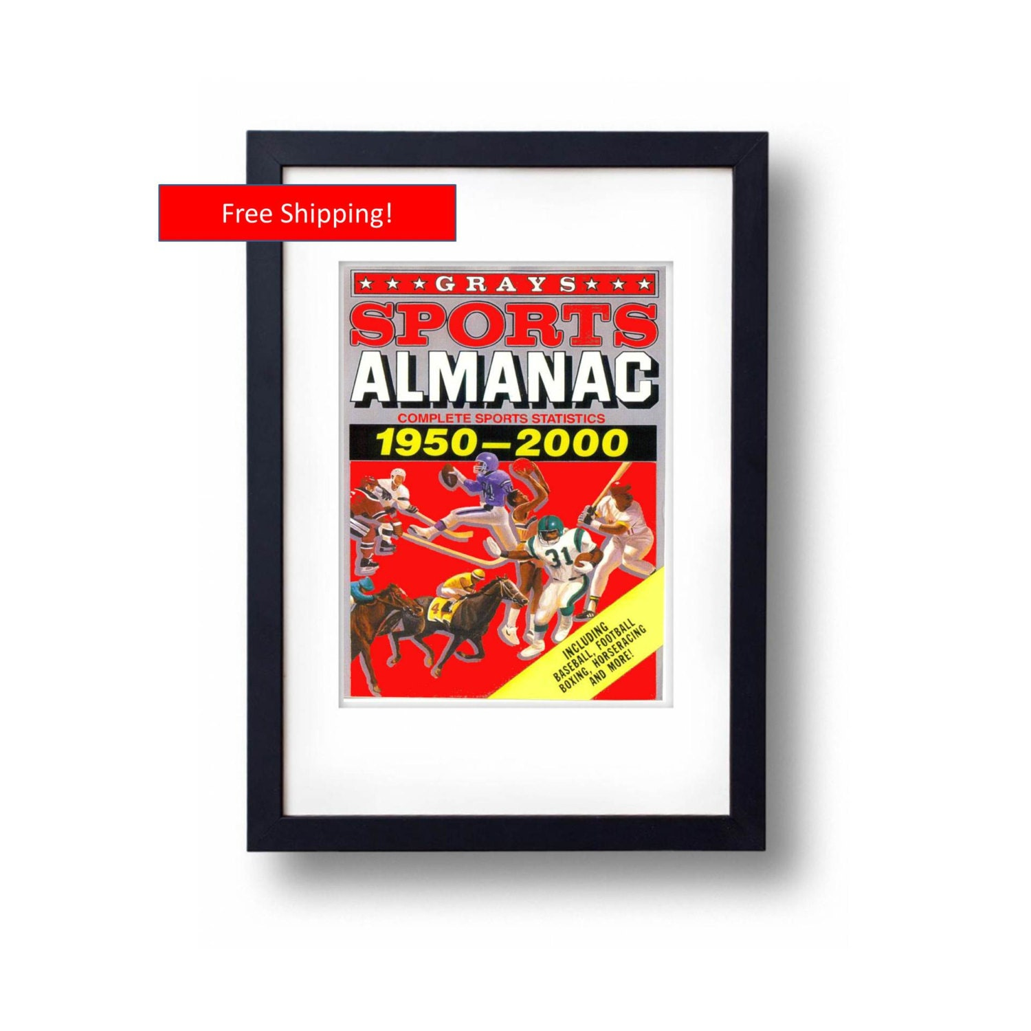 Back To The Future 2 Grays Sports Almanac Front By