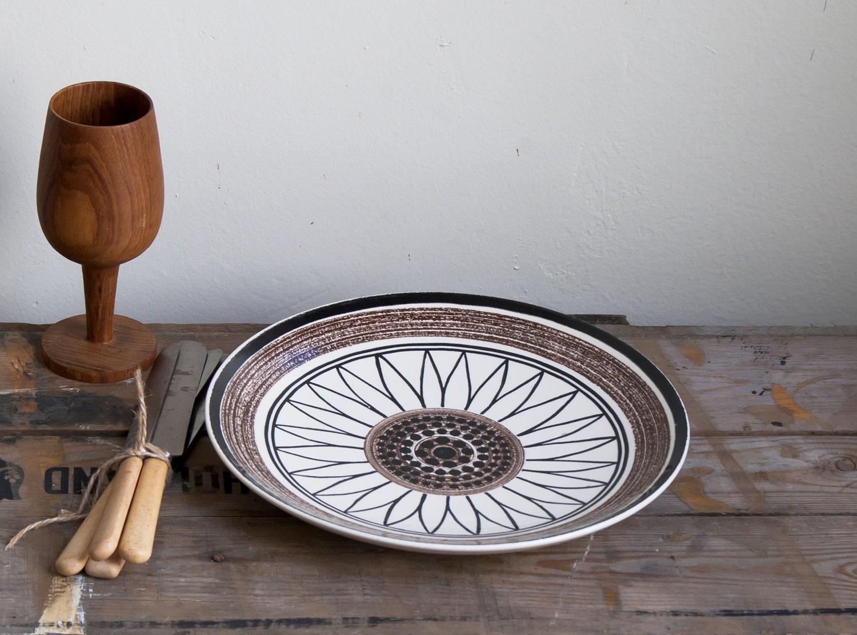 bremer collection. vintage modern plate
