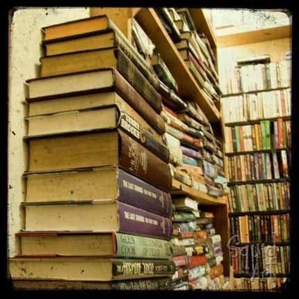 Sale - Books Upon Books - 6x6 inch TtV Photo