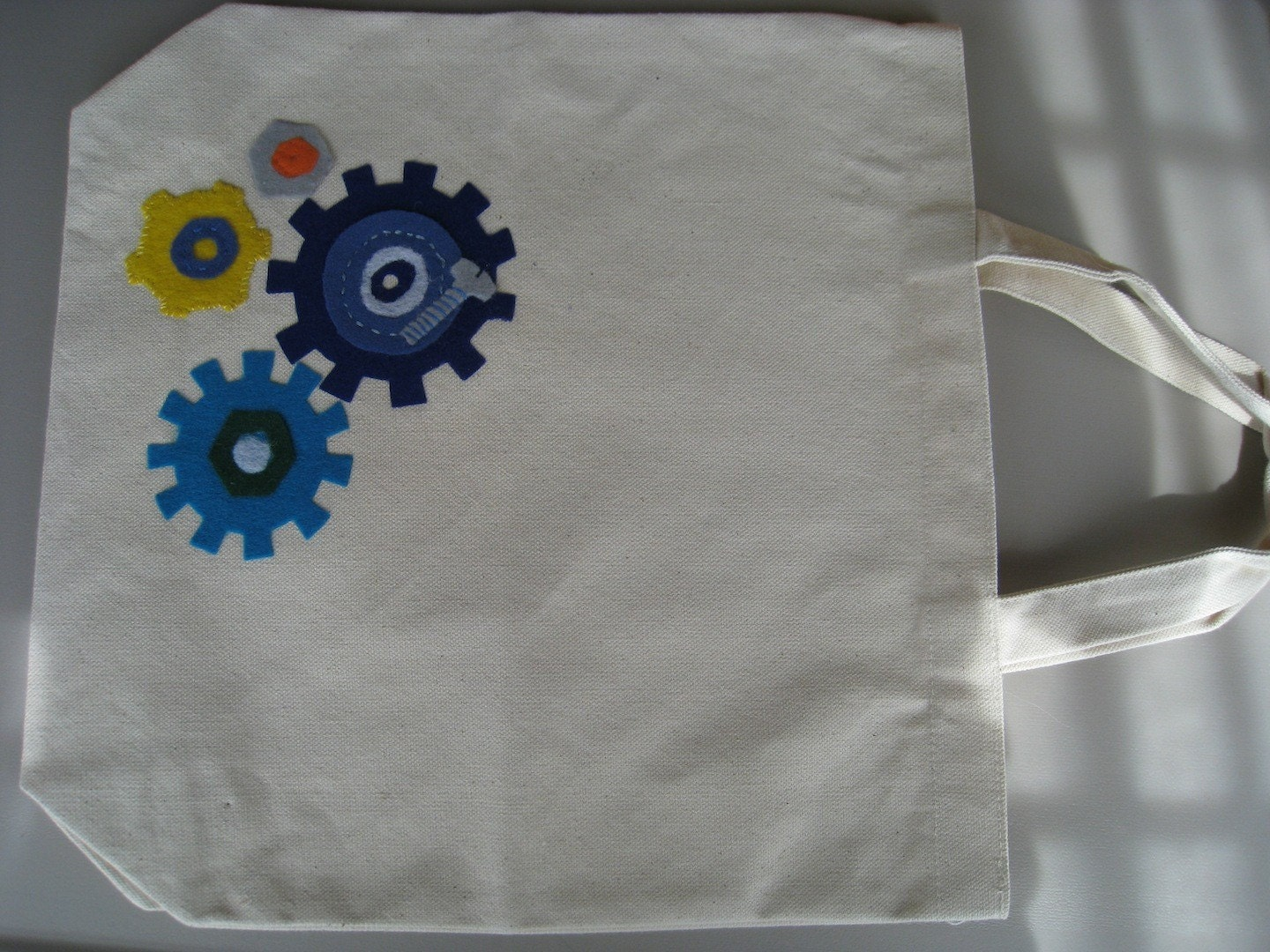 SALE- GEARS -Canvas Carry All Bag