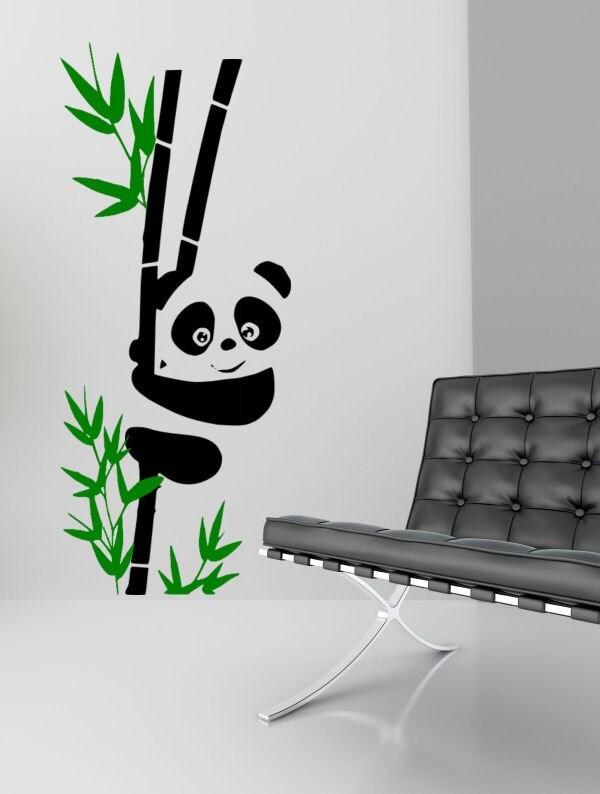 Panda bear wall decals