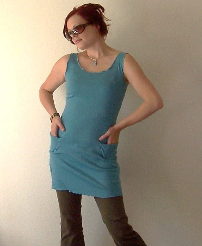 The Blue Sky Tunic