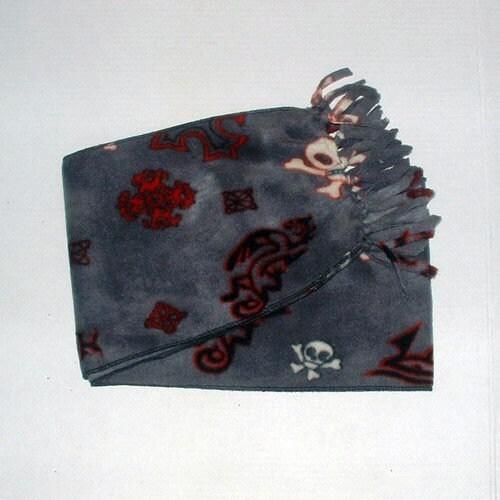 iron cross. muffler. neck wrap
