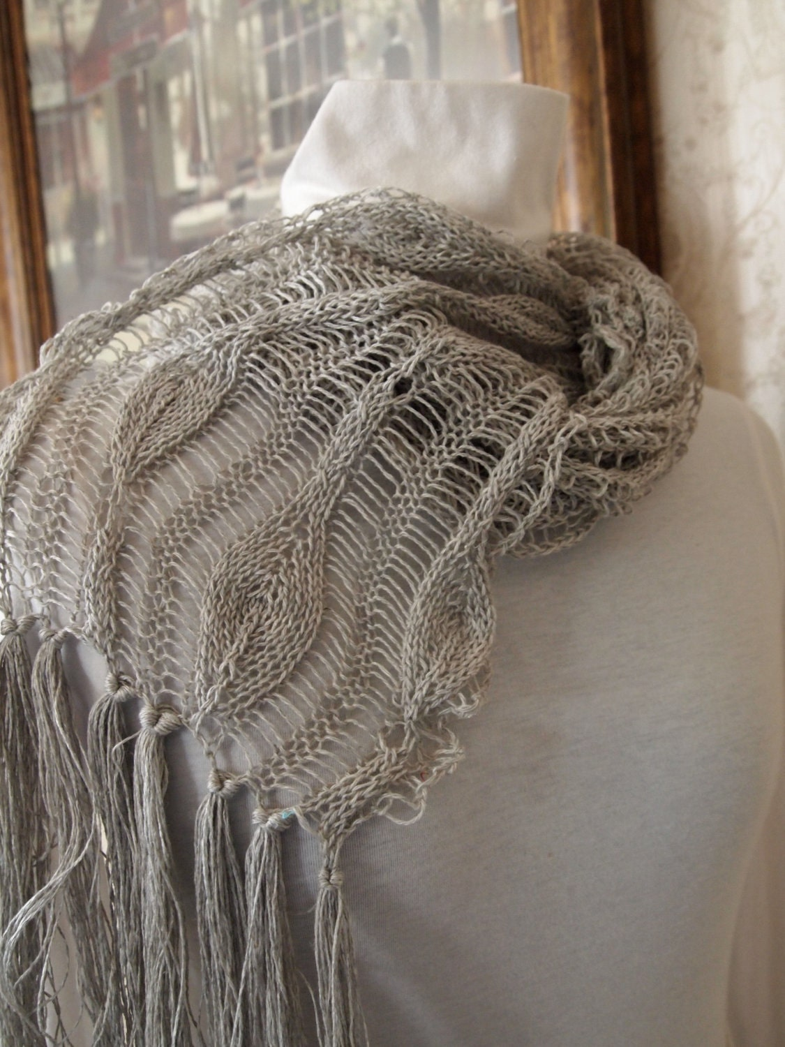 Knitting Pattern For Long Scarf : 301 Moved Permanently