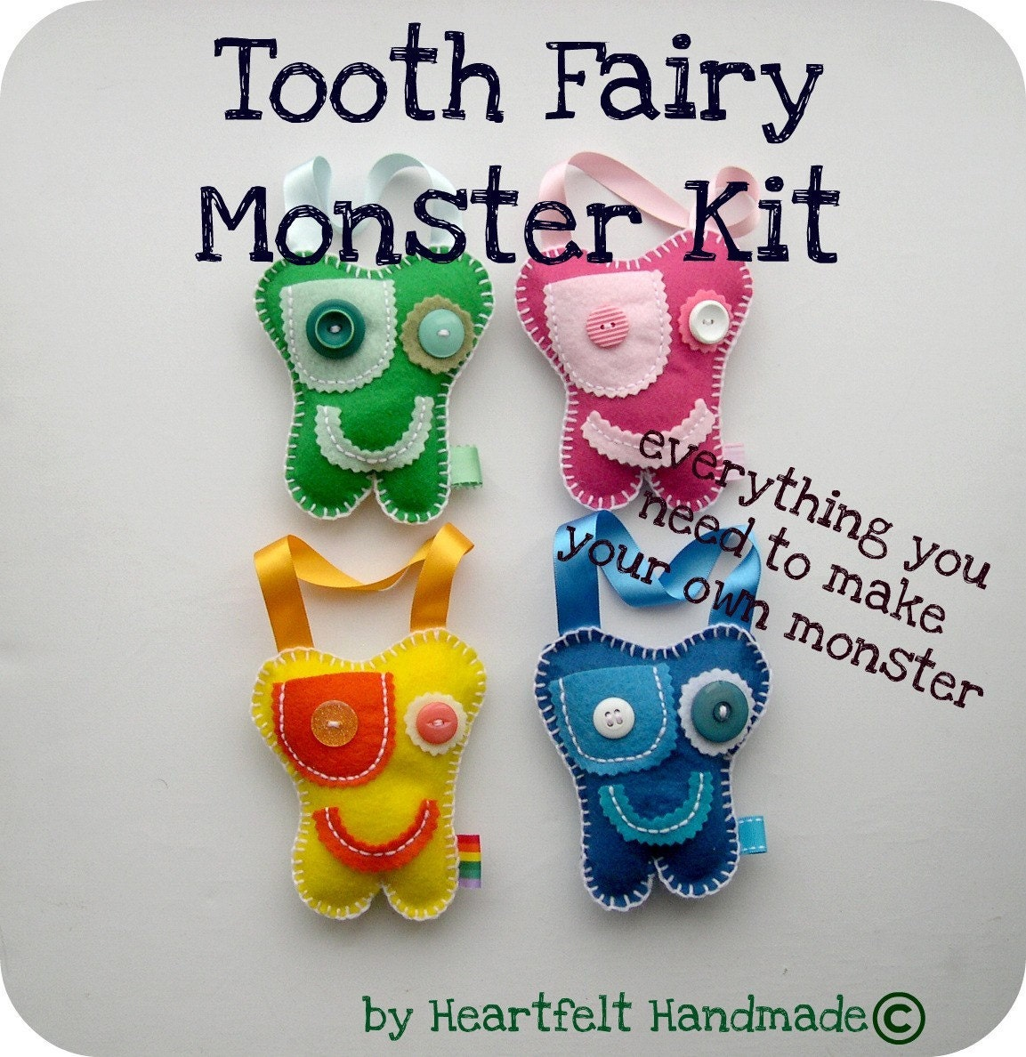 Tooth Fairy Monster Craft Kit