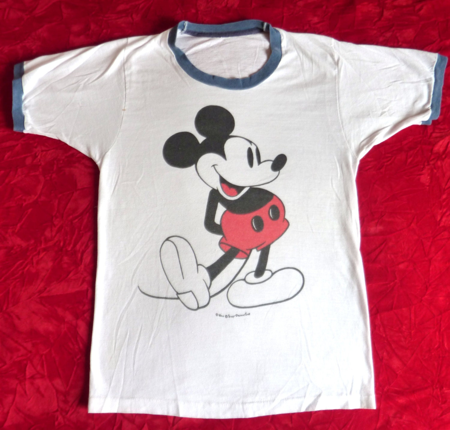 Guitar handbook Vintage mickey t shirt hinder