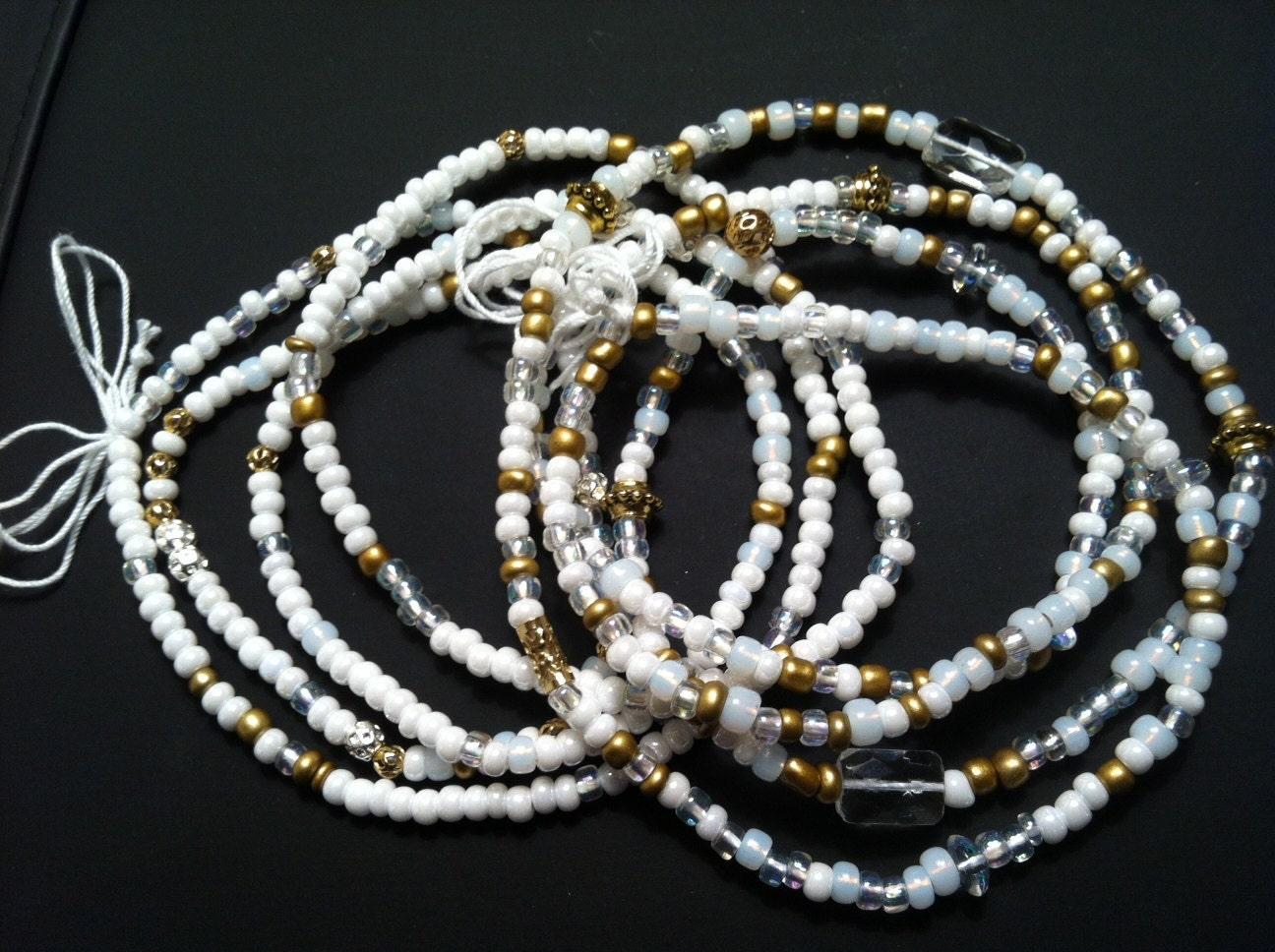 RAMONA Set of 2 African Waist Beads