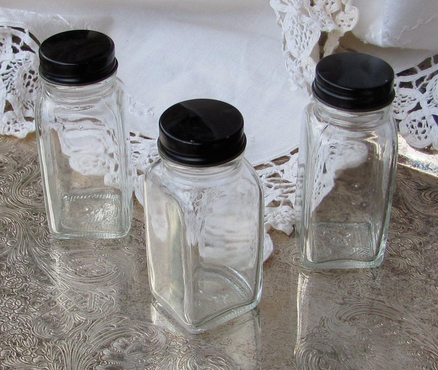 Vintage  Bottles Set of  3  By My Broken Art on Etsy