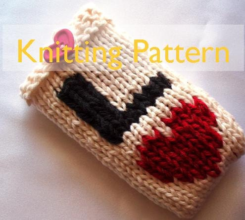 Knitting Patterns For Phone Socks : FREE CELL PHONE COZY KNITTING PATTERN - VERY SIMPLE FREE ...
