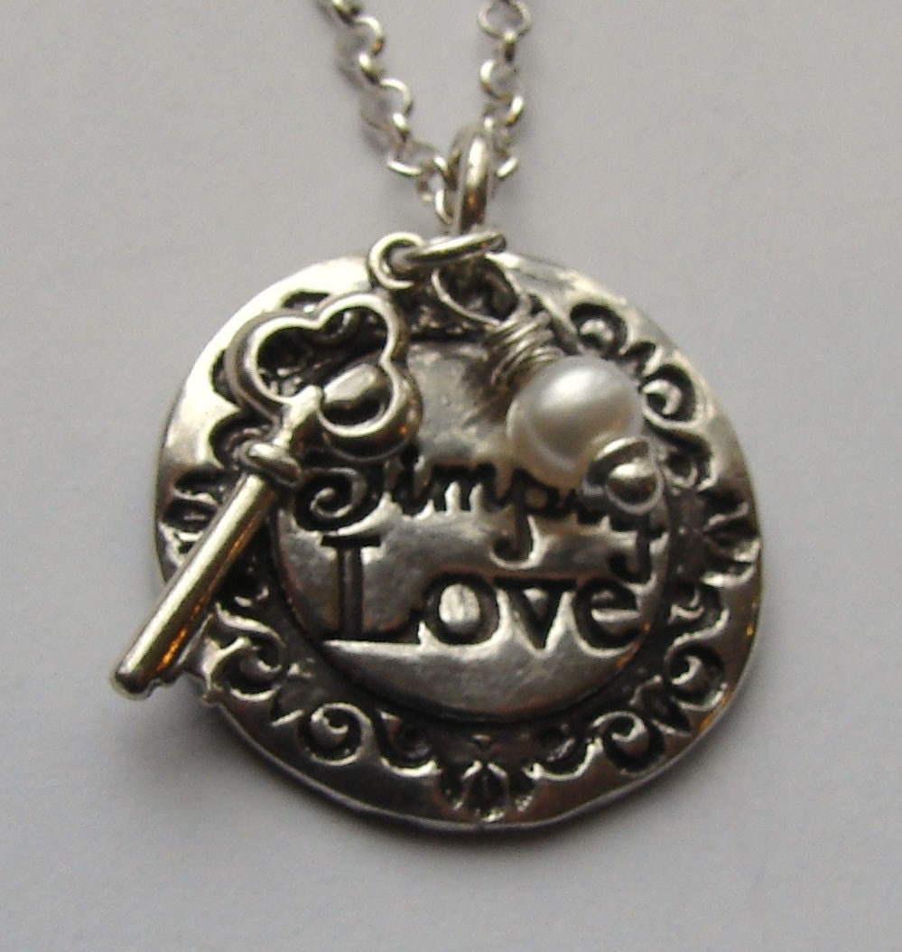 "To ""Simply Love"" is the Key necklace-Adoption Fundraiser"