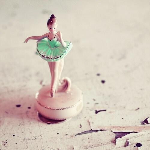 40% Off Winter Sale Ballerina - 5x5 Original Signed Fine Art Photograph