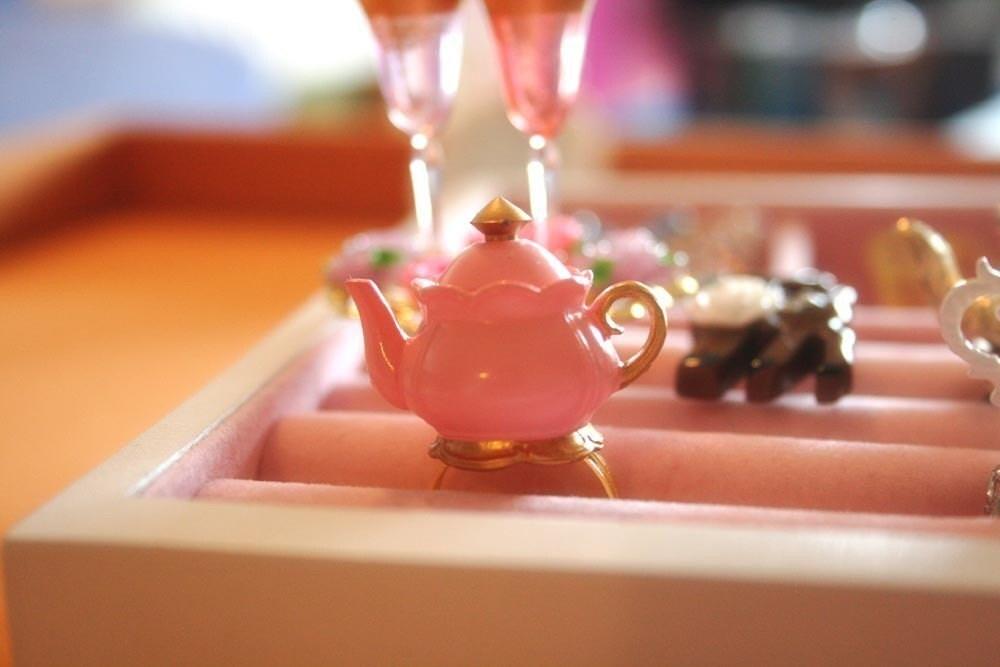 Princess Teapot Ring