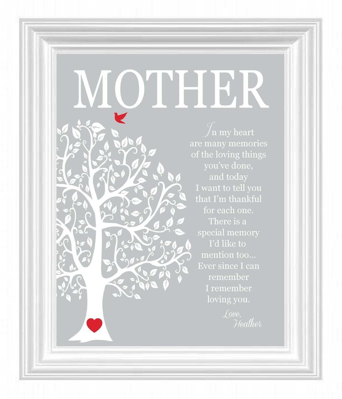 Mother 39 s day gift personalized gift for mom by Christmas gift ideas for mom from son