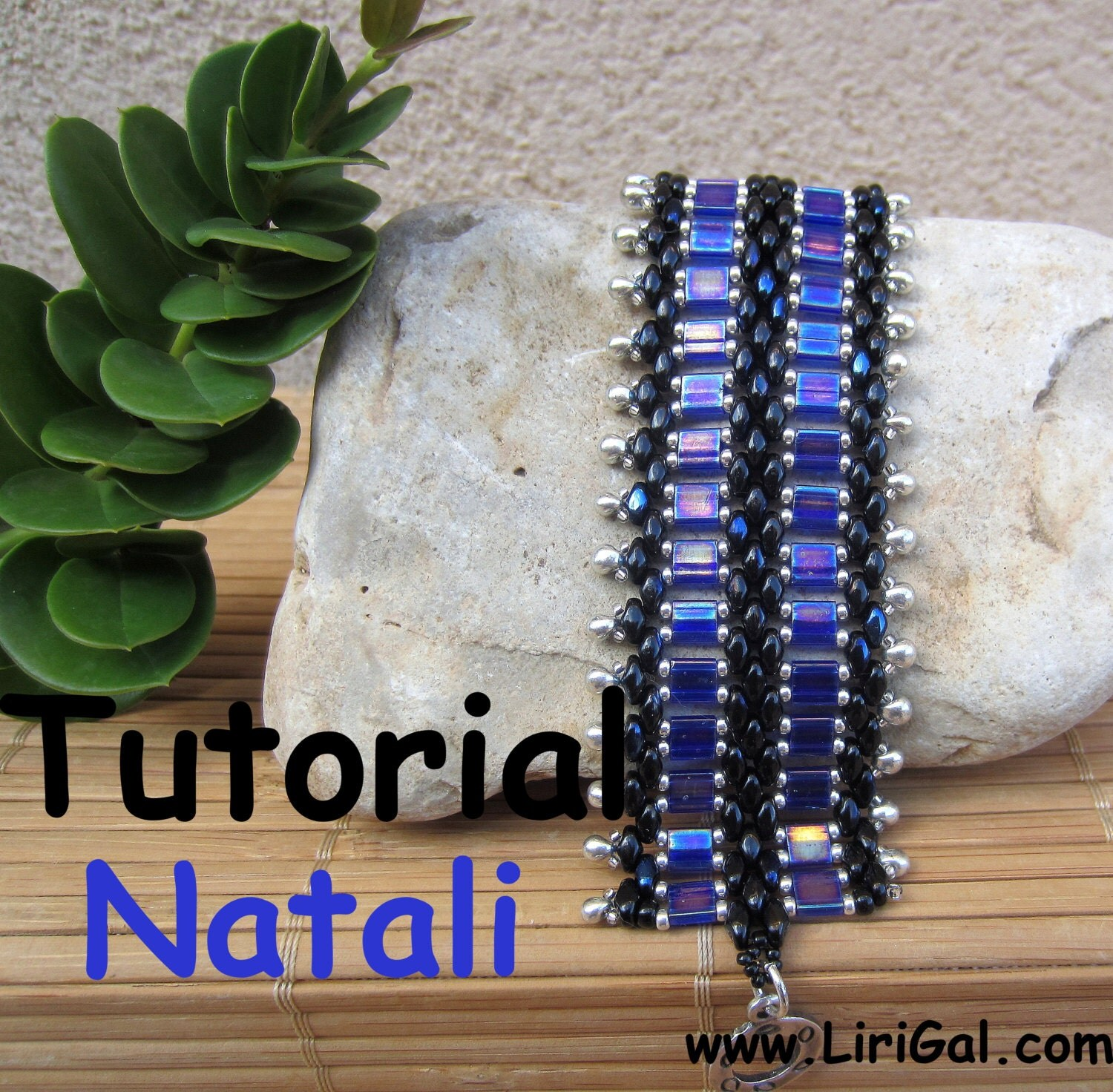 Tutorial Natali SuperDuo and Tila Beadwork Bracelet PDF