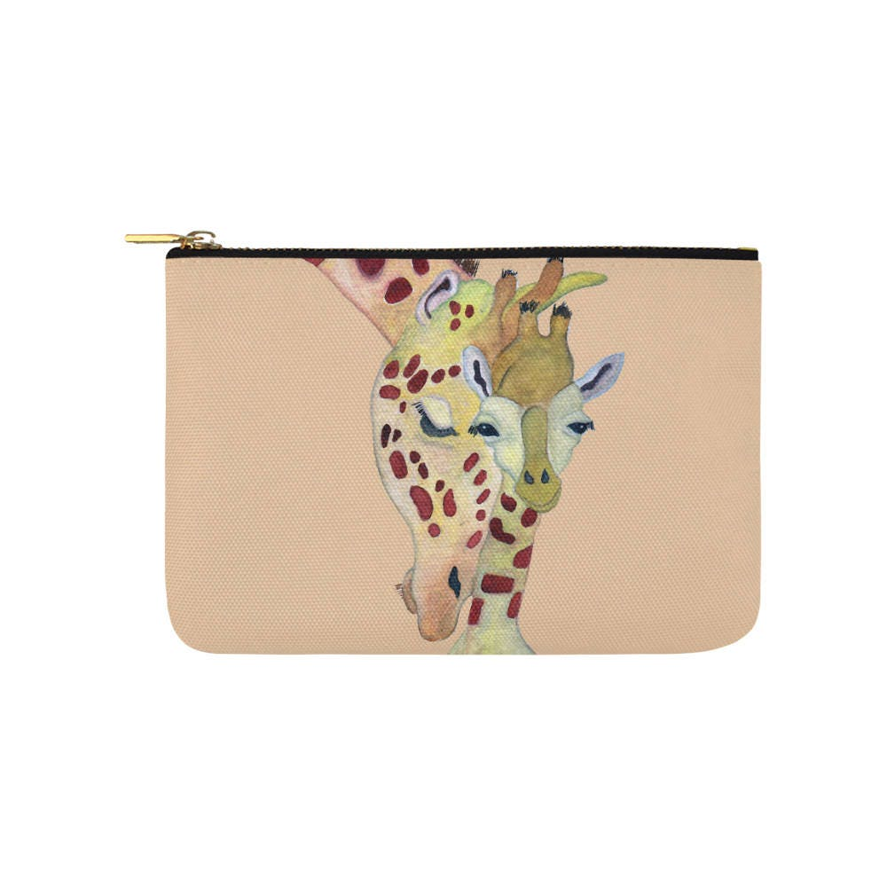 Giraffe Carry All Pouch Fashion Bag Bridal Party Bag Purse Tote Bag