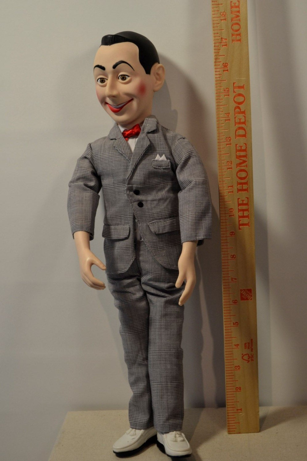 pee wee herman talking pullstring doll by houseofbuckles on etsy. Black Bedroom Furniture Sets. Home Design Ideas