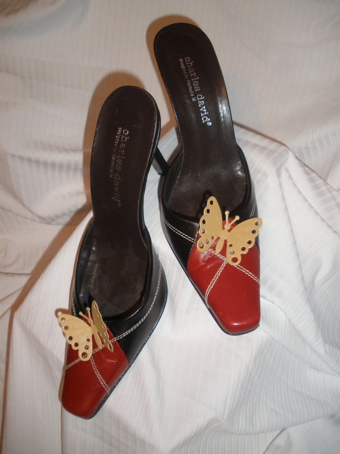 Adorable Butterfly Stick On's Shoe Accessories for High Heels, Flat, Bridal Party, Women Shoes, Not Shoe Clips