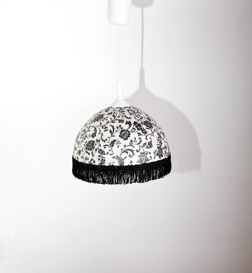 Ретро глэм выглядеть ручной работы лампы, абажур, подвесной светильник, потолочные, подвесные лампы середине века современный вдохновение, Современный дизайн интерьера акцент чешского романтика по FiligreeCreations на Etsy