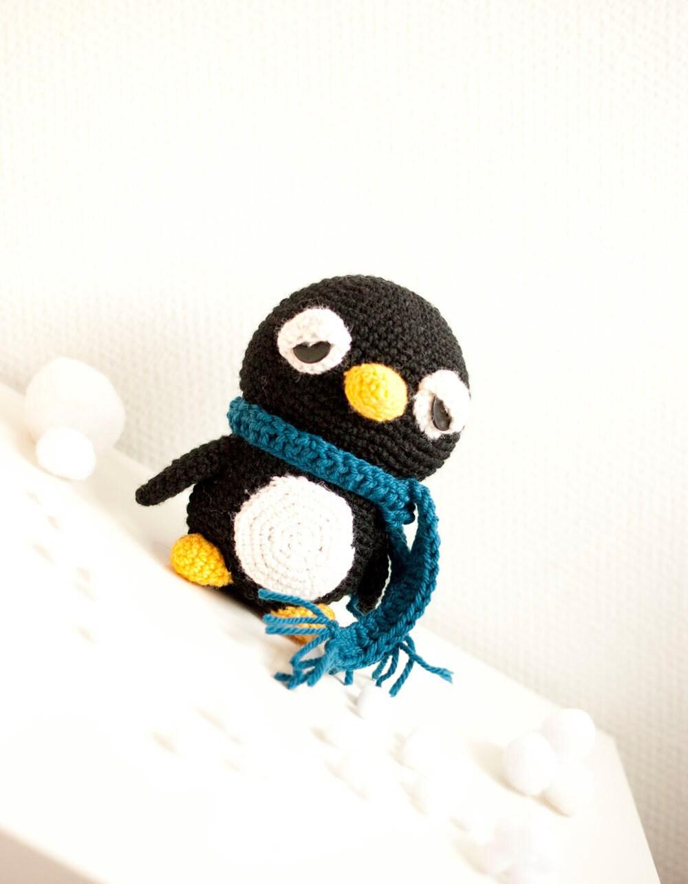 Amigurumi Linux Penguin : Unavailable Listing on Etsy