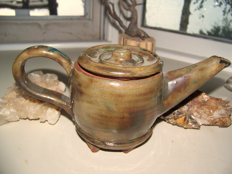 Stoneware Teapot POTTERY SALE