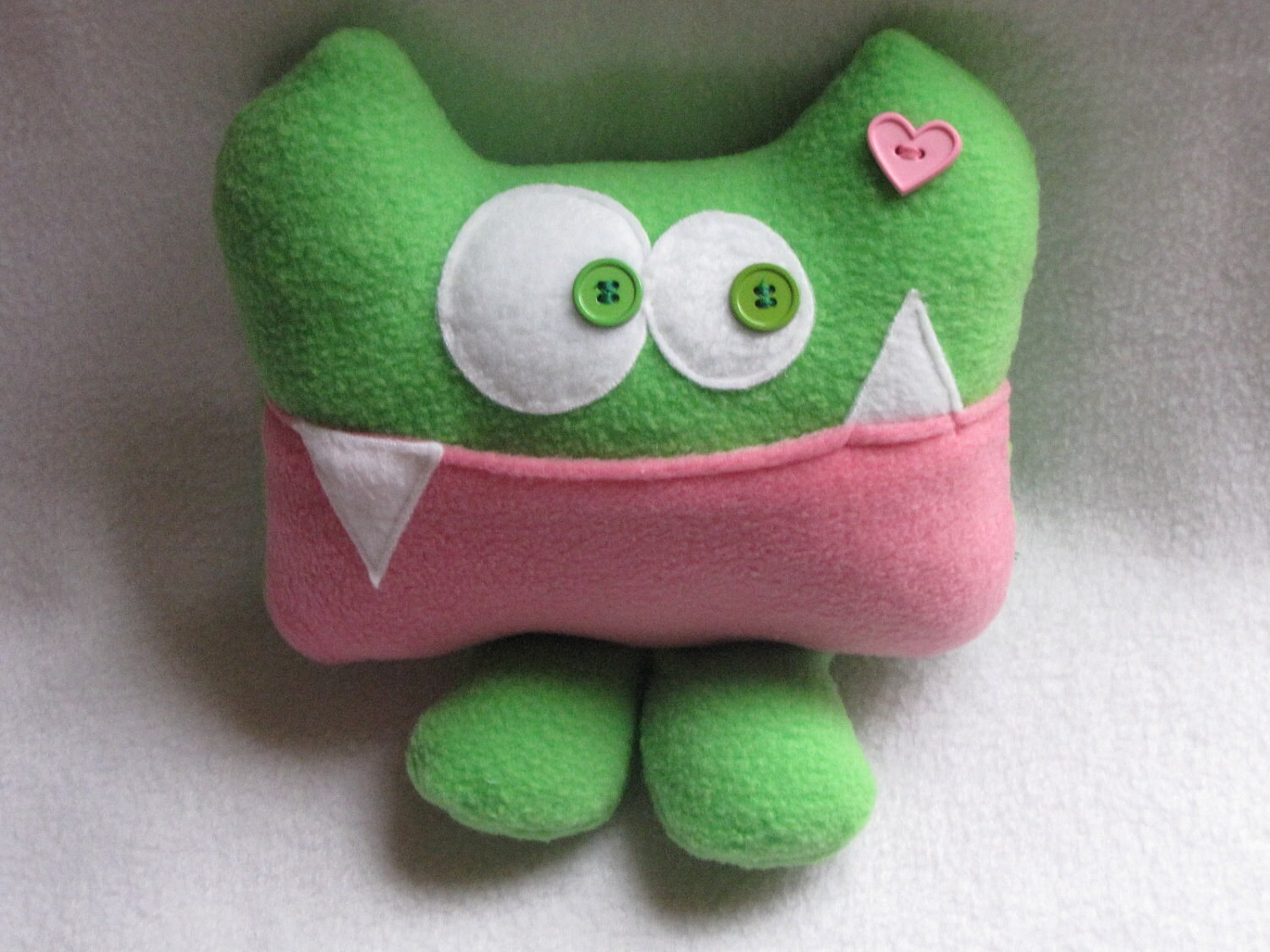 Tooth Fairy Pillow-Miss Abigail Applesauce by Kooky Critters - kookycritters