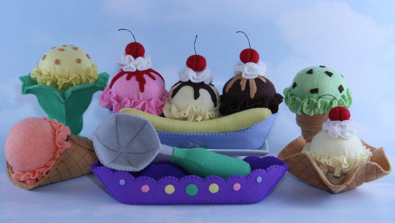 Фото поделок из фетра легко мороженое