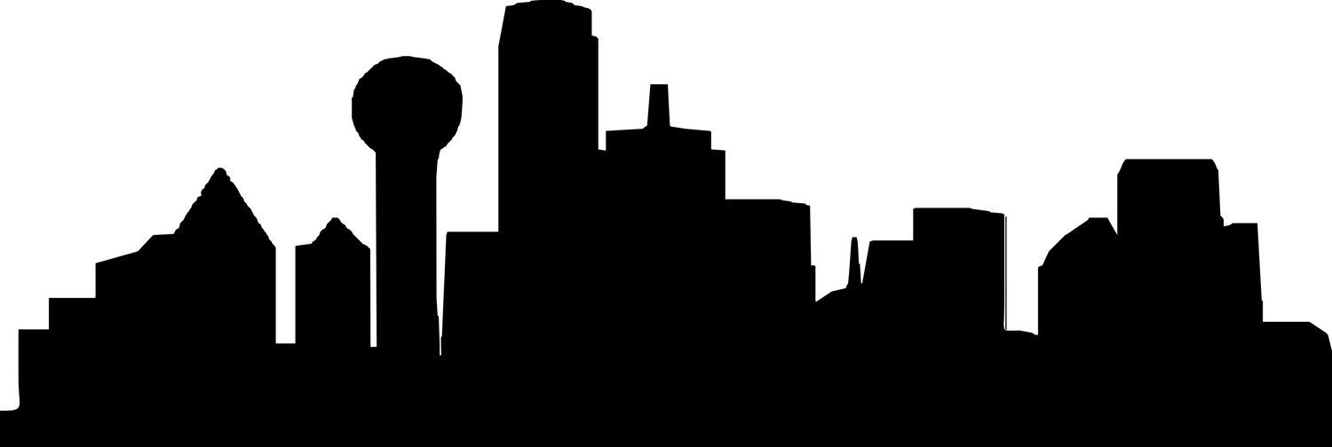 Dallas Skyline Silhouette | HD Walls | Find Wallpapers
