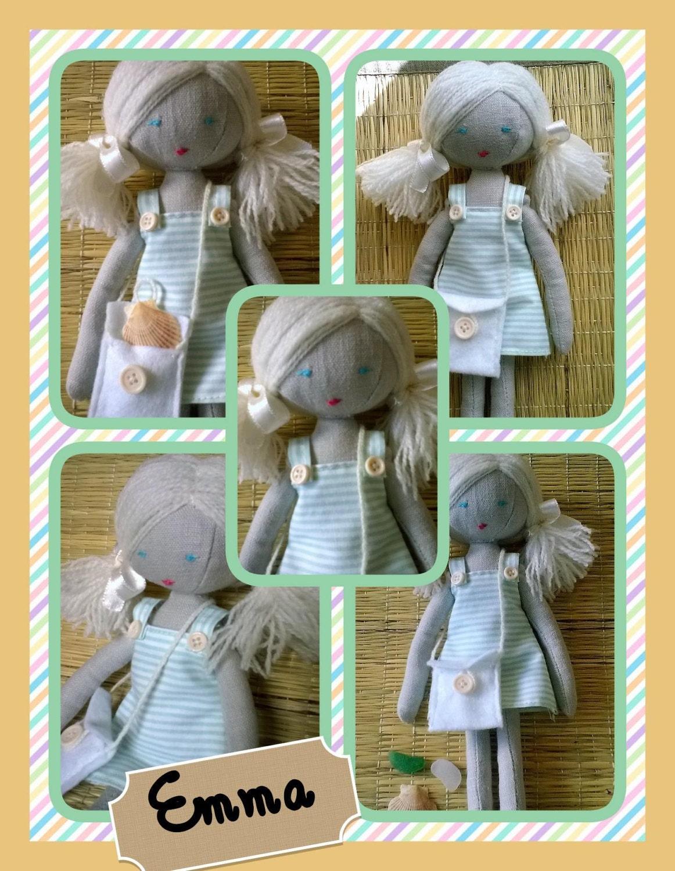 Handmade doll Emma