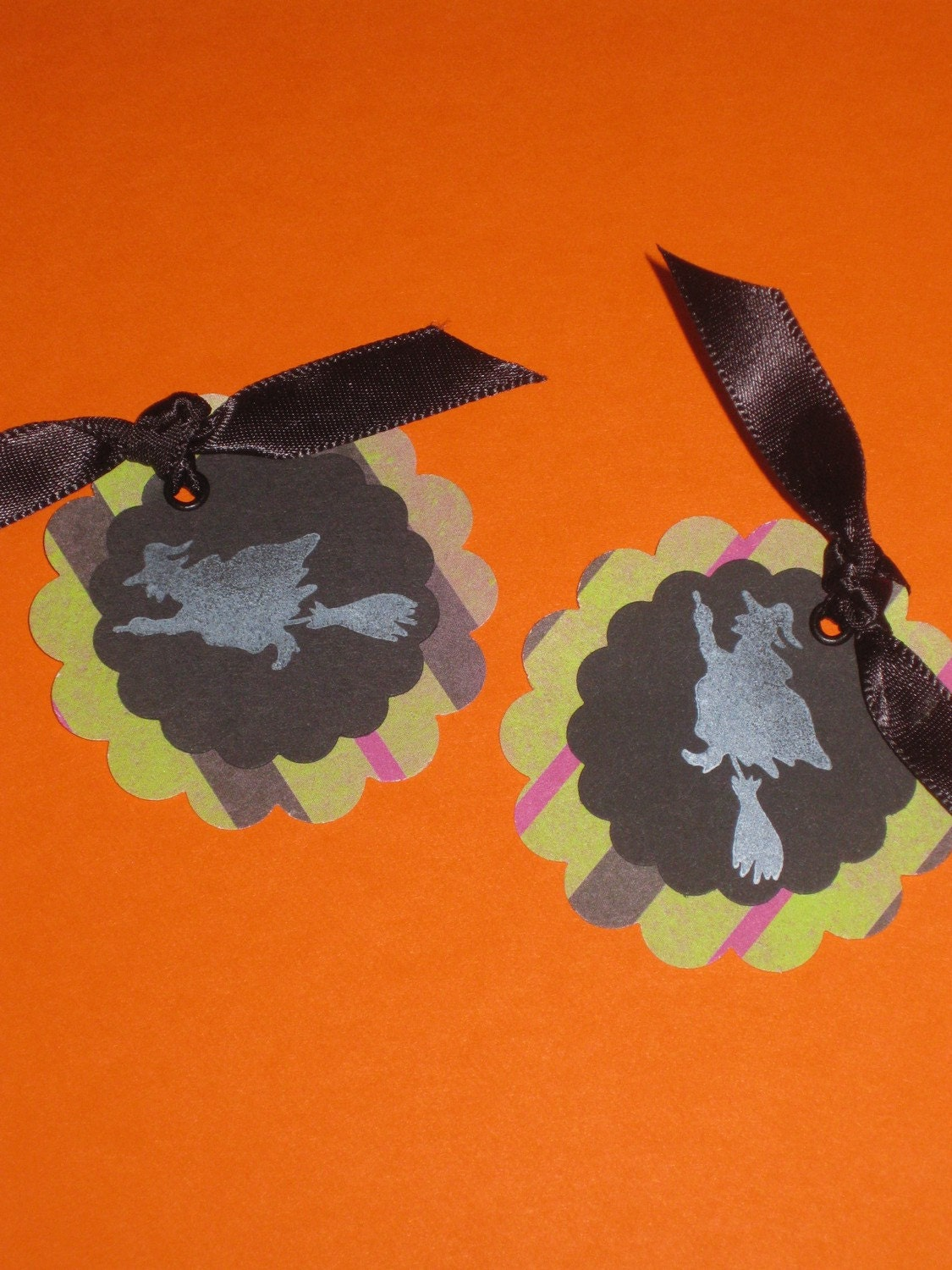 Witchy Halloween Tags