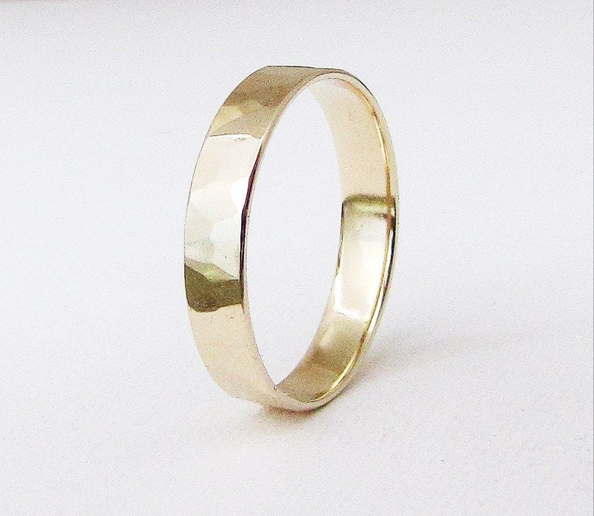 mens hammered rings  eBay