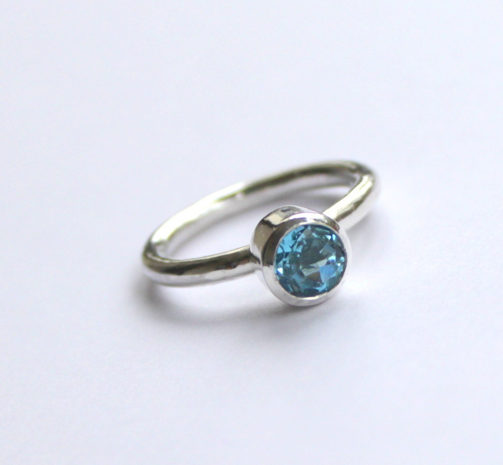november birthstone blue topaz engagement ring by meltemsem