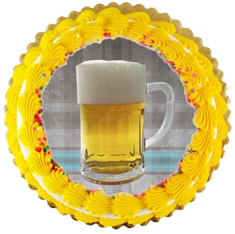 beer mug cake. cake topper - Beer mug 8