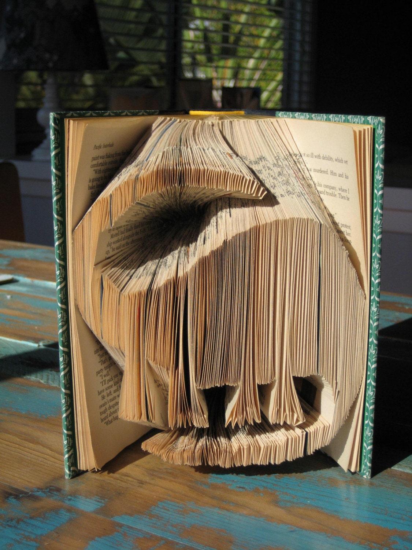 Folded Dinosaur Book