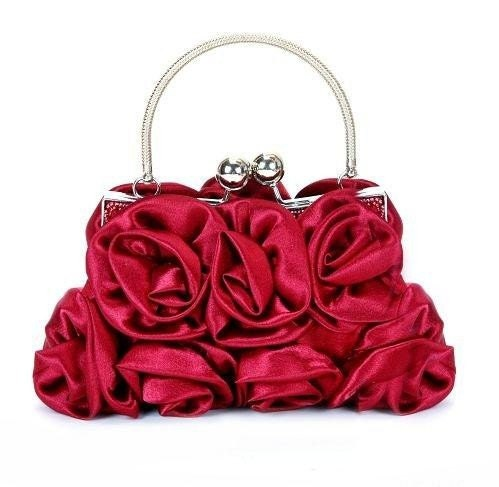 Fad and Elegance the silk fabric series Banquet-bags Handbag :  handbag bag evening etsy