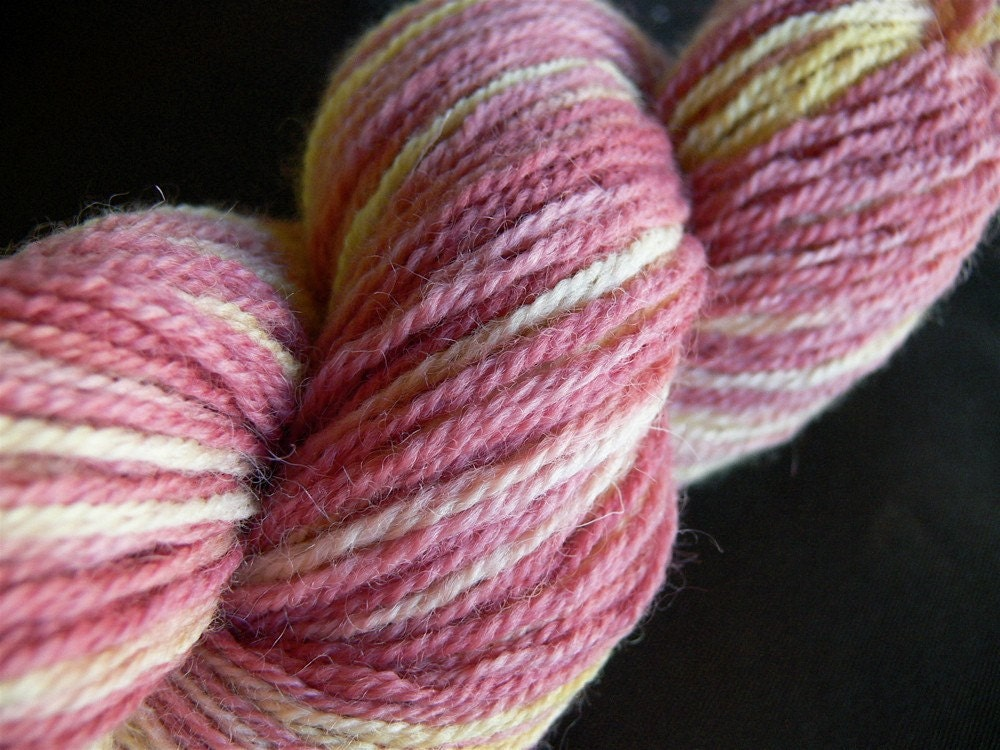 Hera's Jealousy 100g 230yd Hand Dyed Wool by OlympicFiberArts