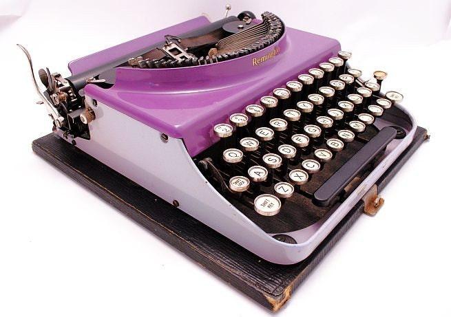 1930s Remington No. 3 Duotone Lavender Professionally serviced