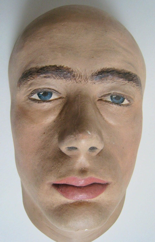 Vintage James Dean Plaster Death Life Mask 1955 by Fivehands