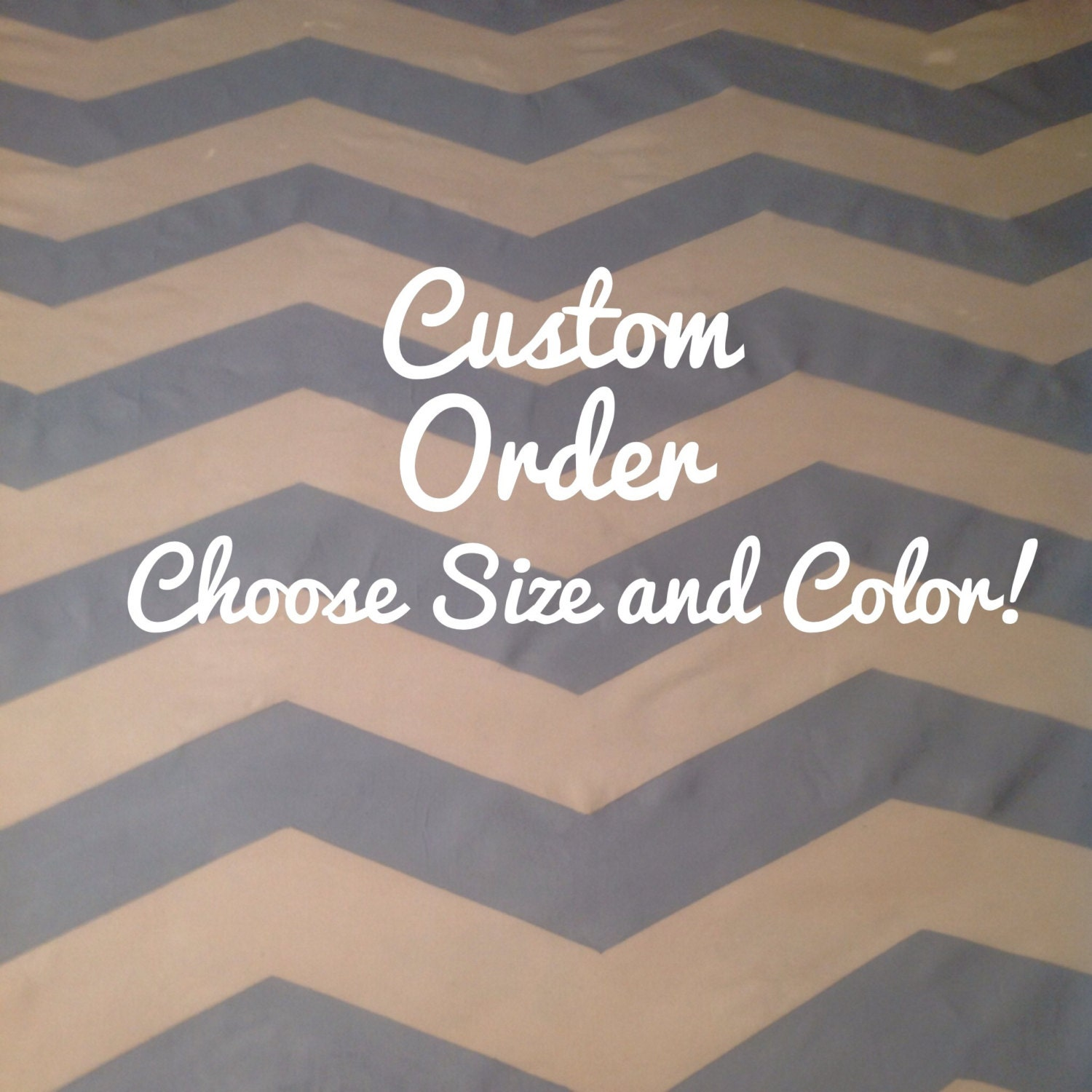 Custom area rug chevron rug floor rug rugs by for Choosing a rug color