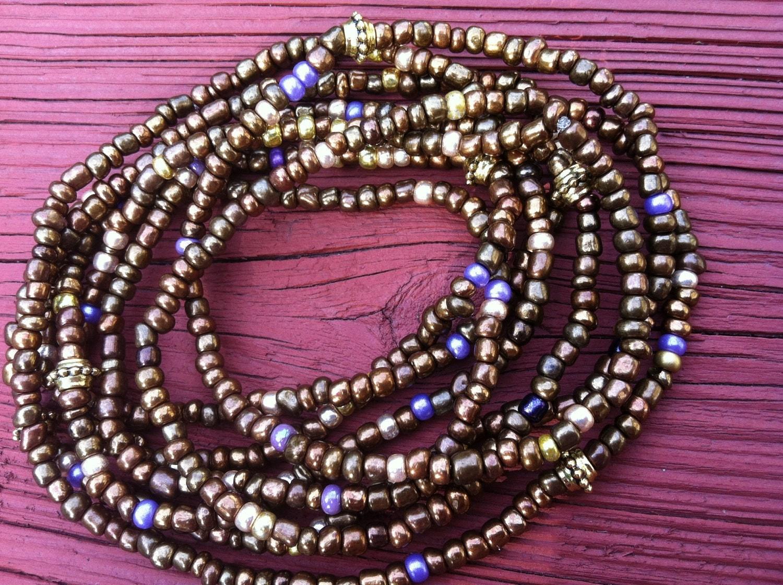 SHEBA Set of 2 African Waist Beads