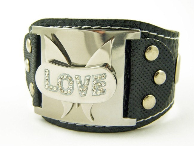 On The Wings Of Love Cuff